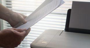 סוגים של דפים למדפסת